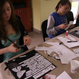 Illustrations-Workshop für Jugendliche in Polen